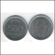 1985 - 500 Cruzeiro, fc. Aço.