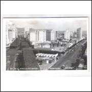 BH09 - Cartão postal Belo Horizonte, circulado em 1957 para Alemanha. Foto Postal Colombo.