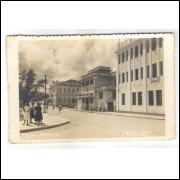 to02 - Cartão postal antigo, Teófilo Ottoni -4- Liga de Desportos. Studio Foto Ideal Caratinga.