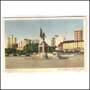 BH10 - Postal antigo, Praça Rui Barbosa, Belo Horizonte.