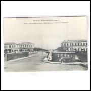 BH11 - Postal antigo, Belo Horizonte, Avenida do Comércio. Edition de la Mission brésilienne de prop