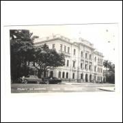RE36 - Postal circulado, anos 60, Recife, Palácio do Governo. Carros.