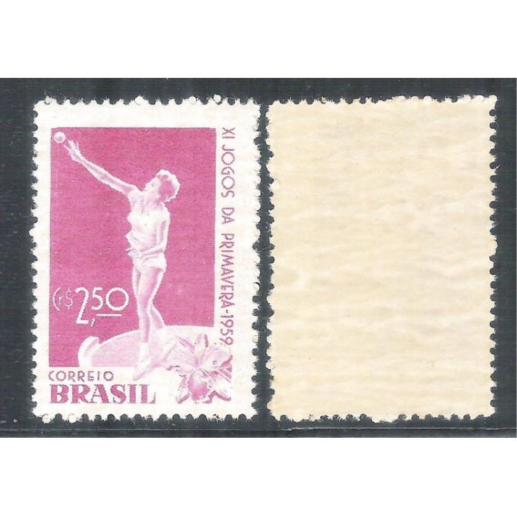 C-439Y - MARMORIZADO - 1959 - XI Jogos da Primavera. Esportes.