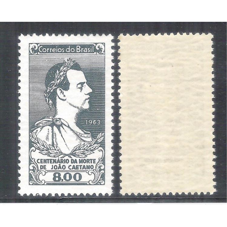 C-494Y - MARMORIZADO - 1963 - Centenário de morte do ator João Caetano.