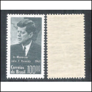 C-519Y - MARMORIZADO - 1964 - John F. Kennedy. Personagem.