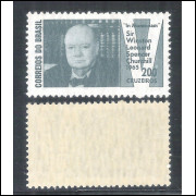 C-532Y - MARMORIZADO - 1965 - Sir Winston Leonard Spencer Churchill. Personagem.