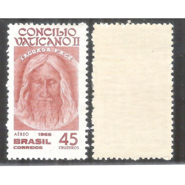 A-108Y - MARMORIZADO - 1966 -  Concílio Vaticano II. Religião.
