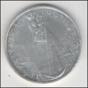 Portugal, 1000 Escudos, 1996, prata, fc. Nossa Senhora da Conceição - Padroeira de Portugal.