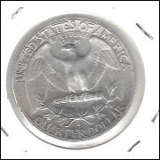 Estados Unidos, 1/4 Dollar, 1964 D, prata, S/FC. Washington.