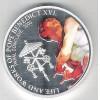 Fiji, 2012 Dolar, Papa Benedito XVI, Rainha Elizabeth II. Religião.