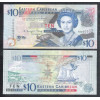 Eastern Caribbean - (P.48) 10 dollars 2008 fe. Rainha Elizabeth II.