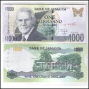 Jamaica - (P.86) 1000 Dollars 2010 fe.