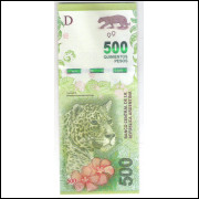Argentina (nova) - 500 Pesos, 2016, fc. Fauna.
