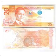 Filipinas (P.206) - 20 Piso 2013, fe. Fauna.