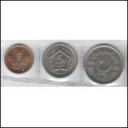 Paquistão 1; 5 E 10 Rupees 2006-2004-2003