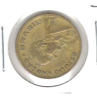 1944 - 20 Centavos, Reverso Horizontal à esquerda, mbc.