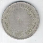 1899 - Brasil, 200 Réis, cuproníquel, utg.