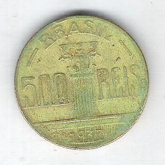 1937 - 500 Réis, bronze-alumínio, bc. Regente Feijó.