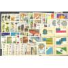 1983 - Coleção dos 54 selos comemorativos, novos.