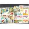 1984 - Coleção dos 62 selos comemorativos, novos. MINT