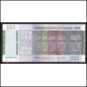 C152 - 500 Cruzeiros, 1980, Ernane Galvêas e Carlos P. Langoni,sob..Comemorativa, Evolução das Raças