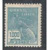 1929 - 266 -  Série Vovó, 1.000 Réis, filigrana EUBRASIL em acróstico. Novo com goma, charneira.