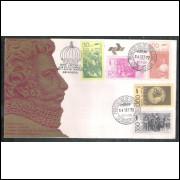 FDC-008 - 1972 - Sesquicentenário da Independência, Carimbo 1o Dia e Comemorativo - Guanabara
