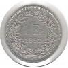 Suíça, 1 Franc, 1992, cuproníquel, soberba.