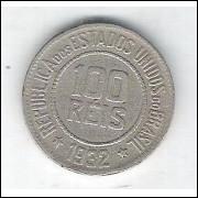 1932 - Brasil, 100 Réis, cuproníquel, mbc.