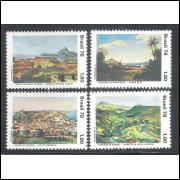 1978 - C-1067-70 - Paisagem brasileira na pintura.