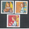 1978 - C-1071-73 - Natal. Anjos, instrumentos musicais, música.