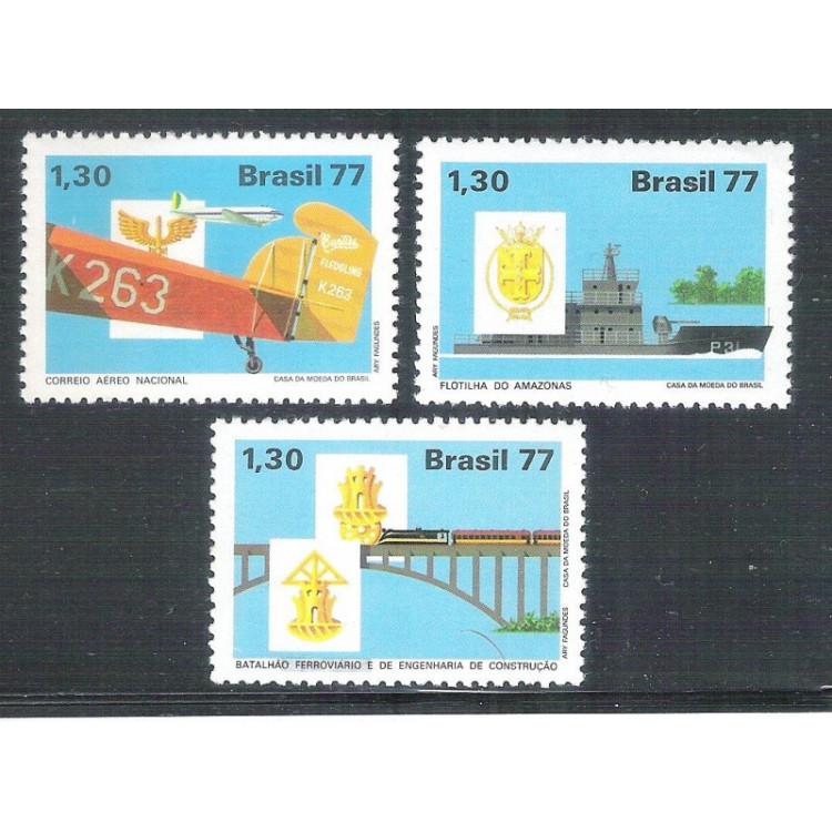 1977 - C-1020-22 - Integração Nacional. Aviação, ferrovia, navio.