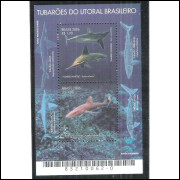 B-144 - 2006 - Tubarões do litoral brasileiro. Fauna. Peixes.