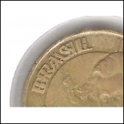 2000 - 10 Centavos, Variante: BRASIL DUPLO.