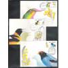 max002/4 - 1973  - Flora e Fauna. Pássaros, orquídea. Série de 3 máximos.
