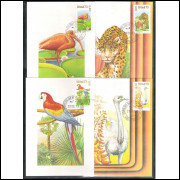max010/13 - 1973  - Flora e Fauna. Série completa, 4 máximos.
