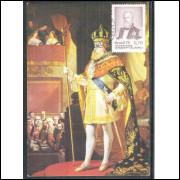 max043 - 1975  - Sesquicentenário de nascimento de Dom Pedro II