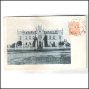 CTB62 - Postal circulado em 1938, Curitiba, Hospital de Caridade (Santa Casa).