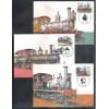 max079-81 - 1983 Série Patrimônio Ferroviário, locomotivas (Baldwin, Hohenzollern, Fowler)