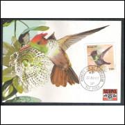max065 - 1981 Fauna Brasileira, Topetinho Vermelho. Pássaro, ave.