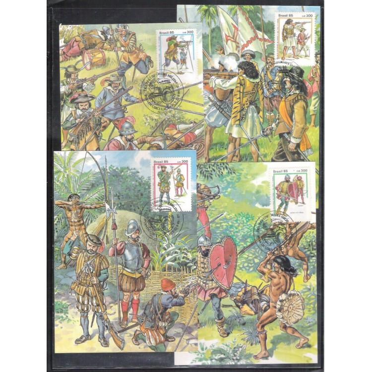 max122-5 - 1985 Uniformes Militares, séculos 16 e 17.