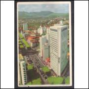 BH13 - Postal antigo Belo Horizonte, Avenida Afonso Pena.