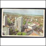 BH14 - Postal antigo 1956 Belo Horizonte. Vista