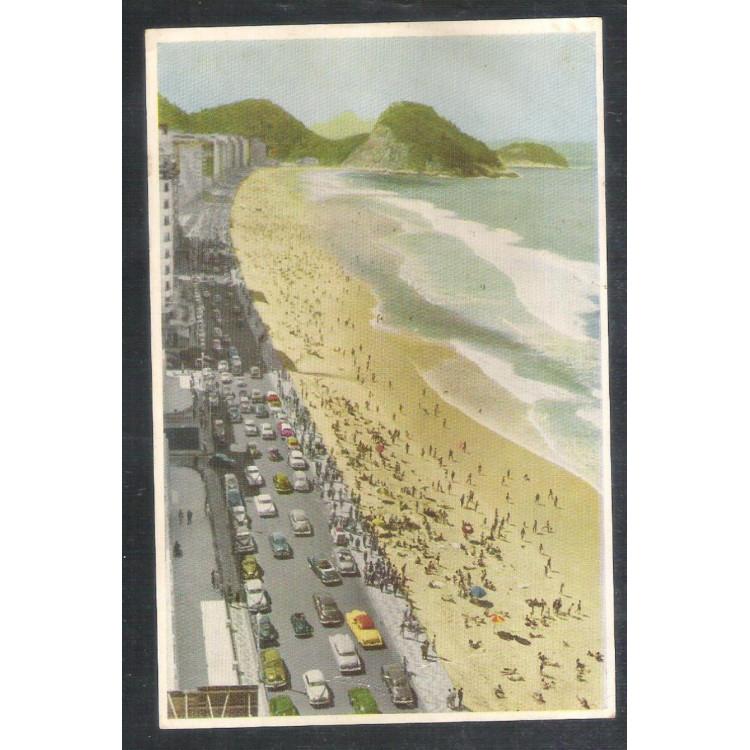 RJ134 - Postal Tradimex do Brasil, Rio de Janeiro - Praia de Copacabana