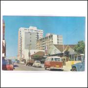 BC1 - Postal antigo, Balneário Camboriu. Carros,