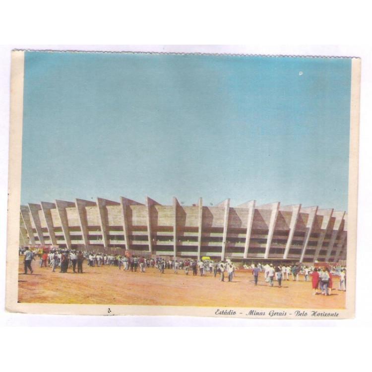 EST01 - Postal, Estádio Minas Gerais, Belo Horizonte.
