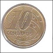 2005 - 10 Centavos, GLOBO TRIPLO.