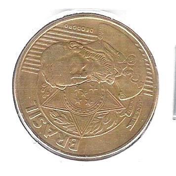 2005 - 25 Centavos, Reverso Horizontal à esquerda.