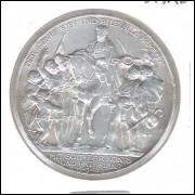 Alemanha (Prússia), 3 Mark 1913, 100 Anos Batalha Waterloo, s/fc. Prata .900 - 16,6 g - 33 mm.