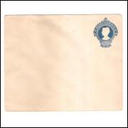 EN-63 - Envelope de 200 Réis, Cabeça da Liberdade, novo.